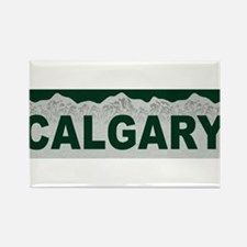 Calgary, Alberta Rectangle Magnet