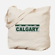 Calgary, Alberta Tote Bag