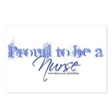 """""""Proud to be an Nurse"""" Postcards (Package of 8)"""