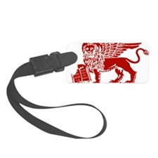 LionRed Luggage Tag