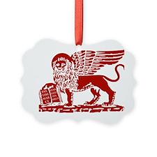 LionRed Ornament
