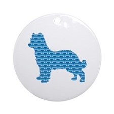 Bone Pyrenean Ornament (Round)