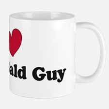 I love my fat bald guy Mug