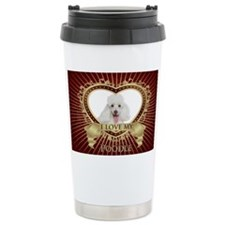 Poodle Bucket Travel Mug