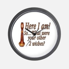3 Wishes Wall Clock