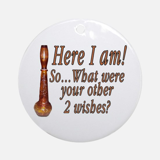 3 Wishes Ornament (Round)