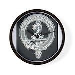 Wilson Badge on Wall Clock