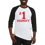 #1 Mommy Baseball Jersey