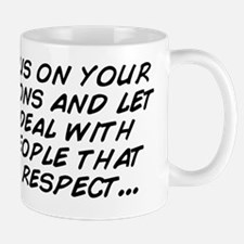 just focus on your own actions and let  Mug