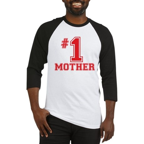 #1 Mother Baseball Jersey