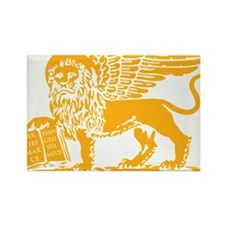 LionGalben Rectangle Magnet