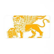LionGalben Aluminum License Plate