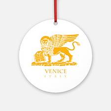 venetian flag Round Ornament
