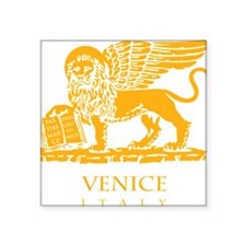 "venetian flag Square Sticker 3"" x 3"""