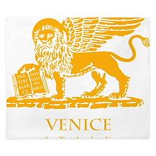 venetian flag King Duvet