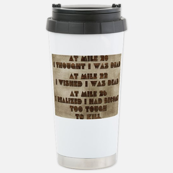 card at mile 20 Stainless Steel Travel Mug