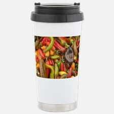 many different peppers Stainless Steel Travel Mug