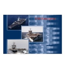 USSEnterprise Postcards (Package of 8)