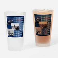 USSEnterprise Drinking Glass