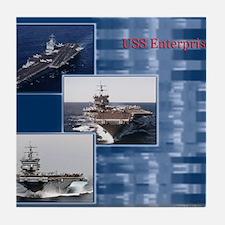 USSEnterprise Tile Coaster