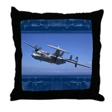 E2cHawkeye2 Throw Pillow