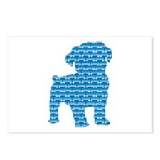 Bone Schnoodle Postcards (Package of 8)