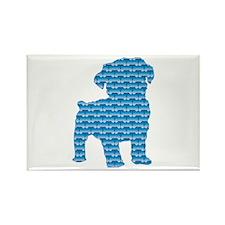 Bone Schnoodle Rectangle Magnet (100 pack)