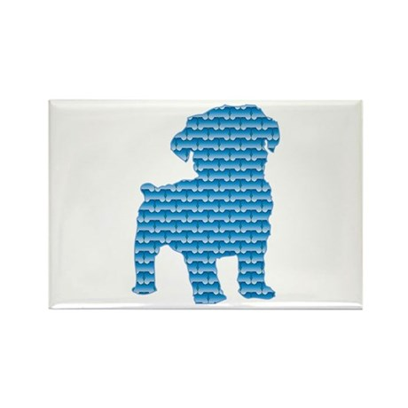 Bone Schnoodle Rectangle Magnet (100 pack)