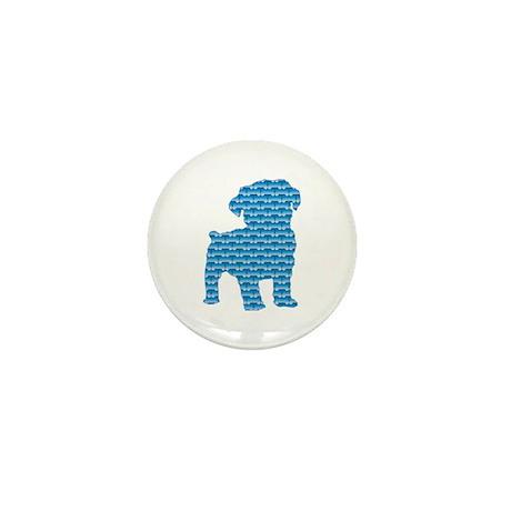 Bone Schnoodle Mini Button (100 pack)