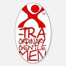 X-Traordinary Gentlemen - RED Decal