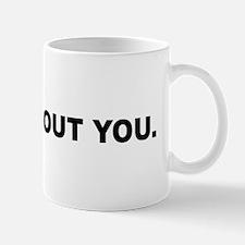 I blog about you Mug