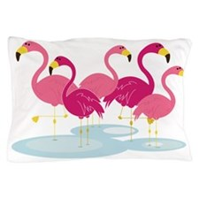Flamingos Pillow Case
