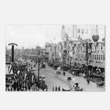 Coney Island Strets 18265 Postcards (Package of 8)