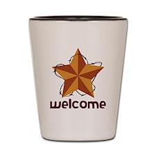 Welcome Shot Glass