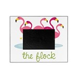 Pink flamingo Picture Frames