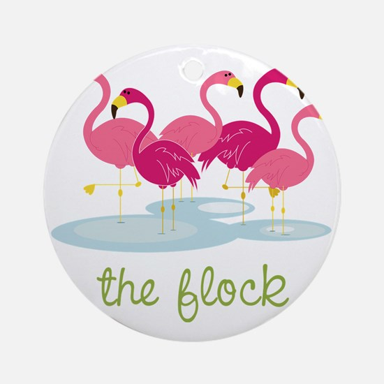 The Flock Round Ornament