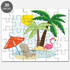 Summer Beach Puzzle