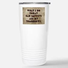 Card What I do today ca Travel Mug