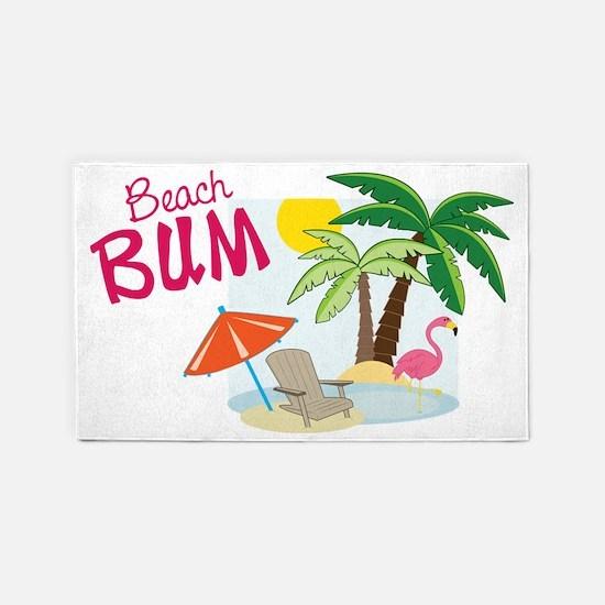 Beach Bum 3'x5' Area Rug