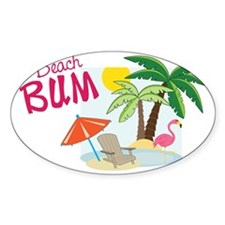 Beach Bum Decal
