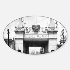 Luna Park Entrance Coney Island 182 Decal