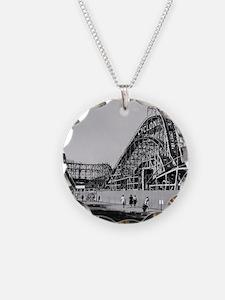 Coney Island Cyclone Roller  Necklace