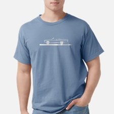 1966-67 Coronet Black Convertible T-Shirt