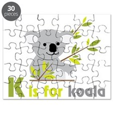 K Is For Koala Puzzle