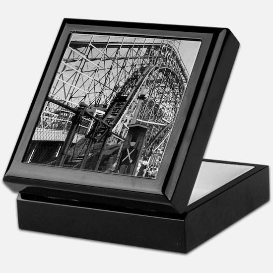 Coney Island Cyclone Roller Coaster 1 Keepsake Box
