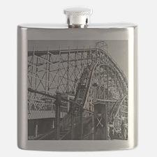 Coney Island Cyclone Roller Coaster 1826613 Flask