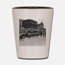 Coney Island Bicyclist 1826632 Shot Glass