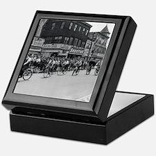 Coney Island Bicyclist 1826632 Keepsake Box