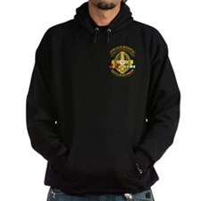 8th Field Hospital w SVC Ribbon Hoodie