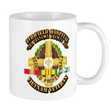 8th Field Hospital w SVC Ribbon Mug